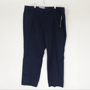JM Collection Black Trousers Tummy Slimming Panels